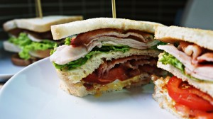 receita de club sandwich